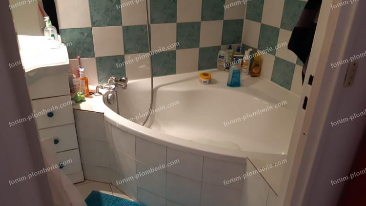 agrandir trappe de baignoire