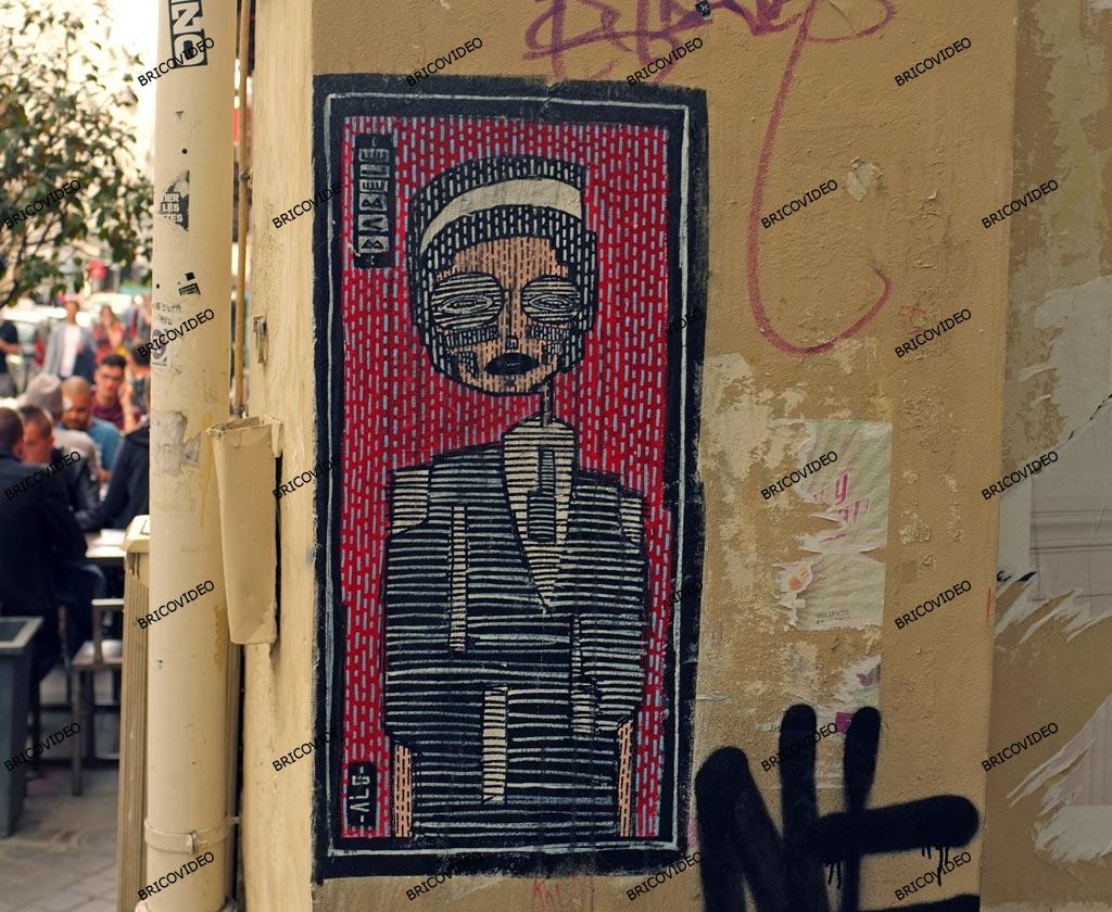 Art de la rue Paris peinture
