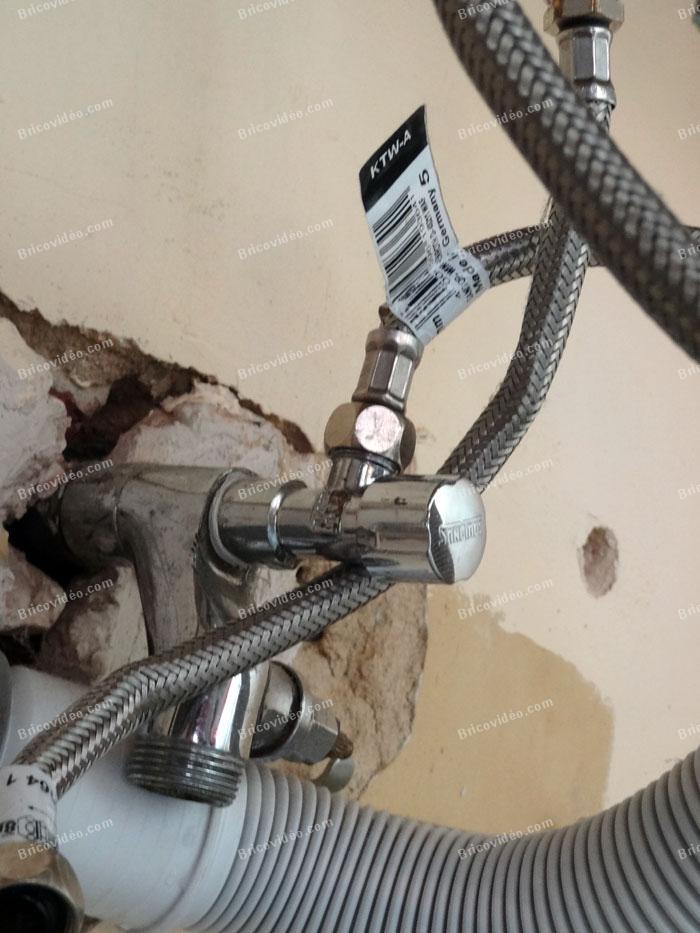 brancher melangeur 3 tuyaux 02