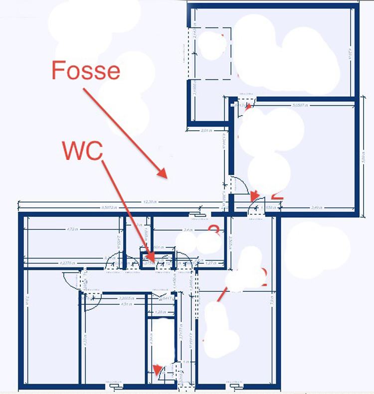 Forum plomberie maison déplacer un WC sur vide sanitaire