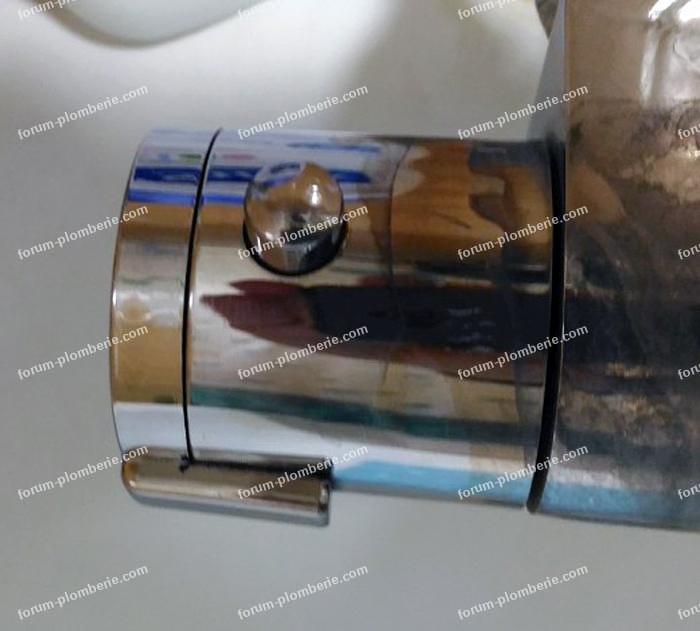 démontage robinet mitigeur