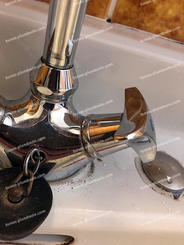 problème démontage croisillons robinet