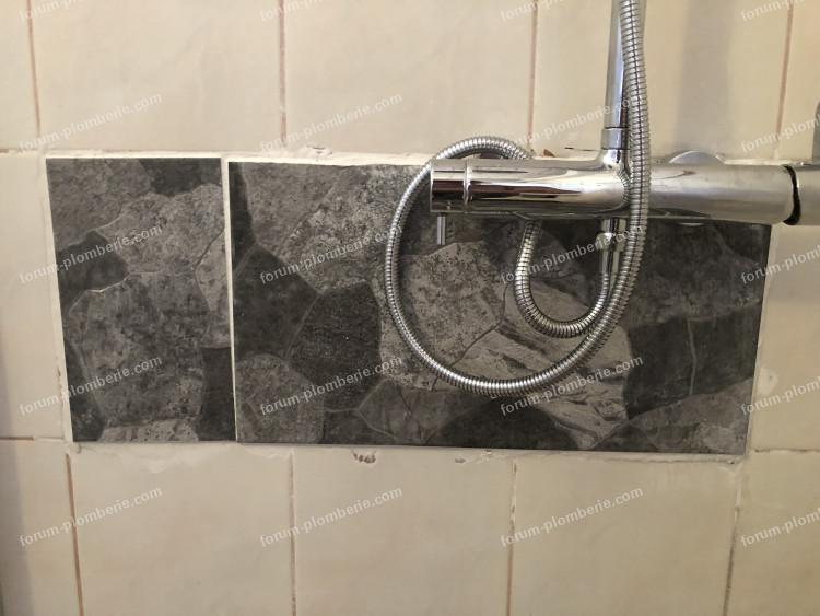Problème changement mitigeur douche