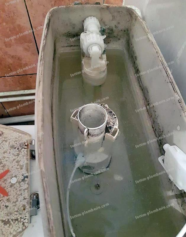 changer pompe mécanisme de WC
