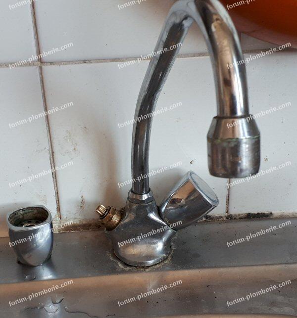 tête à clapet de robinet