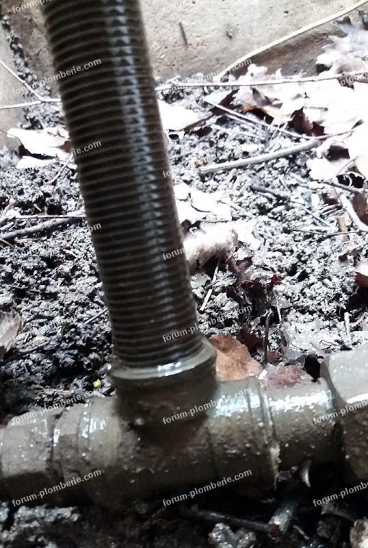 problème démontage robinet d'arrêt