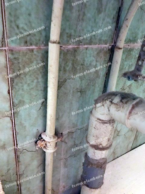Conseils travaux plomberie - Démonter vieux robinet de salle de ...