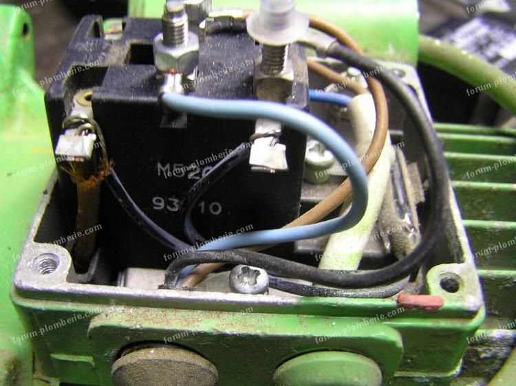 dépannage pompe à eau