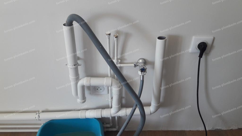 problème évacuation lave vaisselle refoule