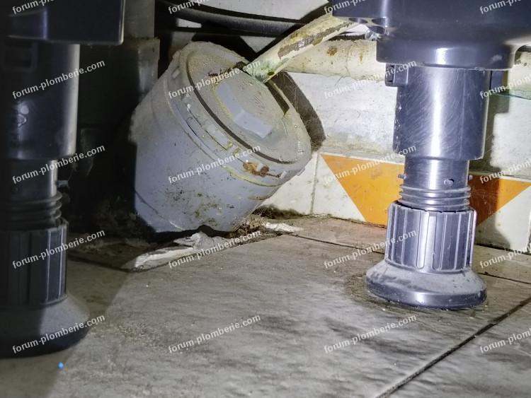 enlever bouchon PVC