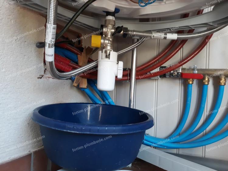 fuite installation plomberie