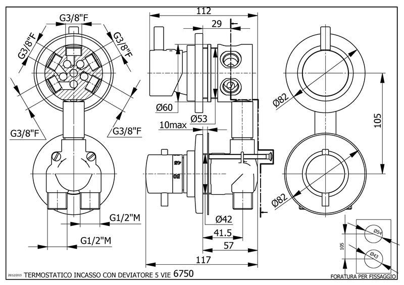 i grande 8900 mitigeur thermostatique pour cabine de douche avec inverseur 5 fonctions avec inverseur dynamique.net