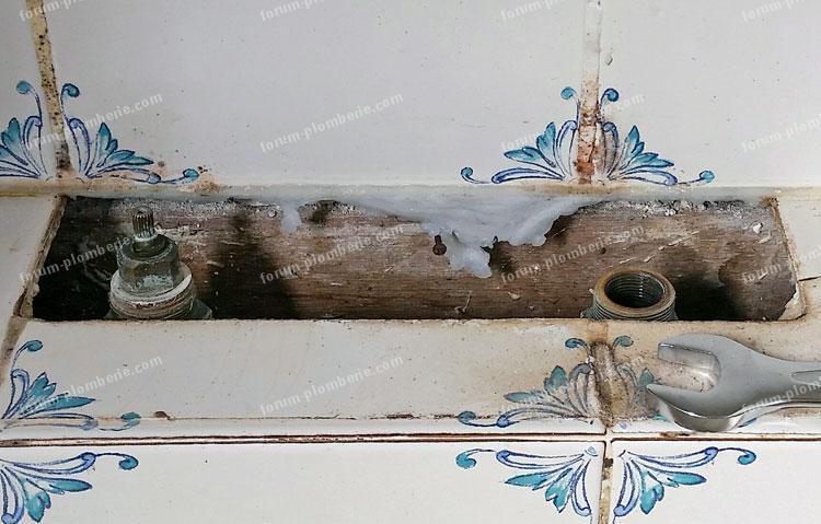 identification tete robinet baignoire