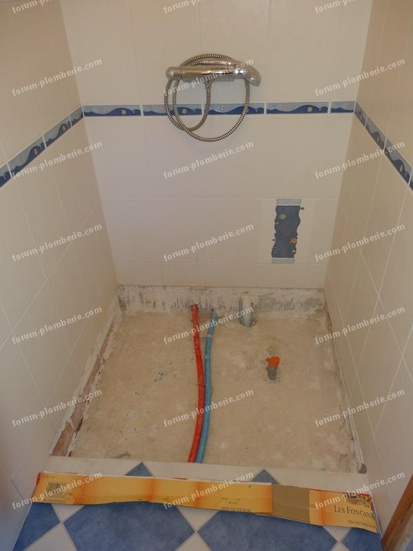 Conseils installation douche l 39 italienne question - Comment installer une douche a l italienne ...