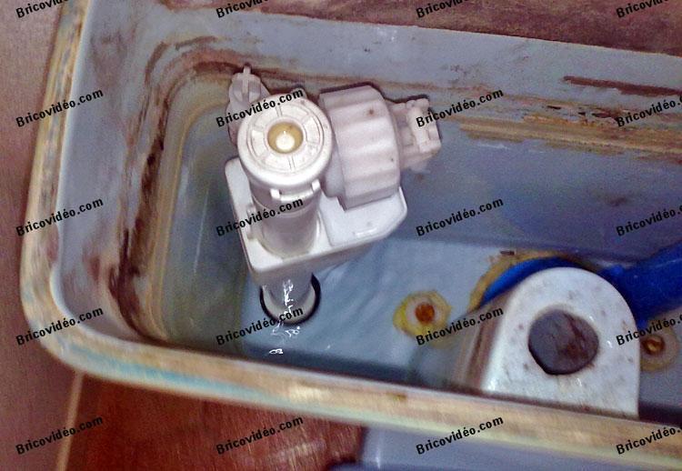mecanisme de chasse wc