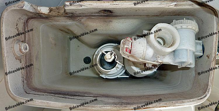 réparation mécanisme wc