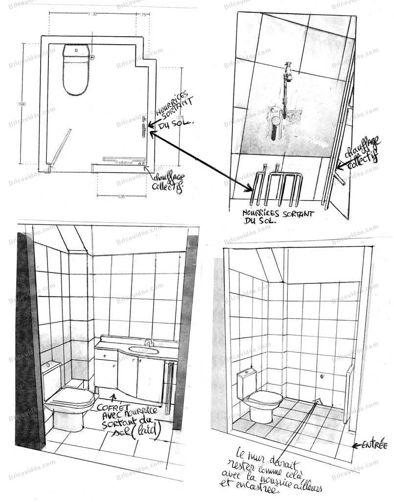 Conseils pour am liorer la plomberie o placer une for Plomberie sous sol salle de bain