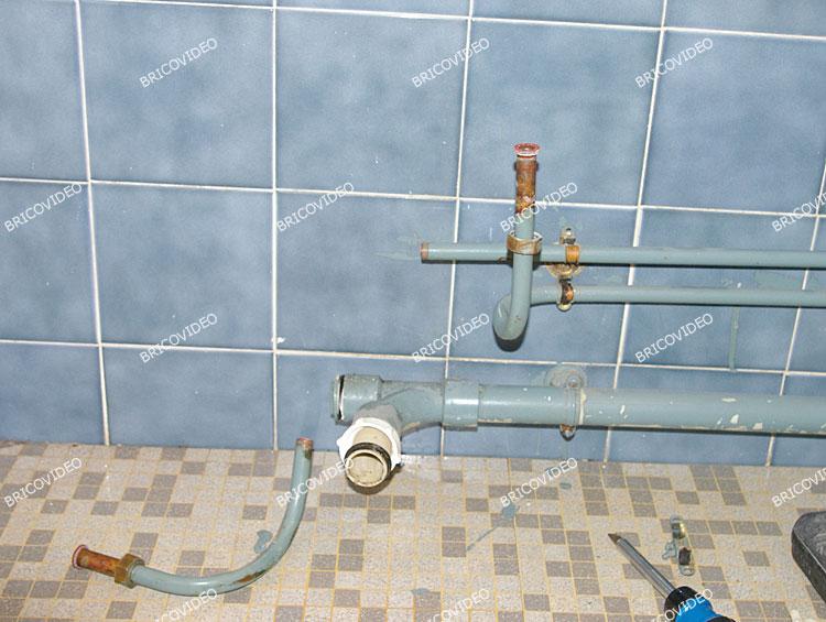 obturation eau chaude