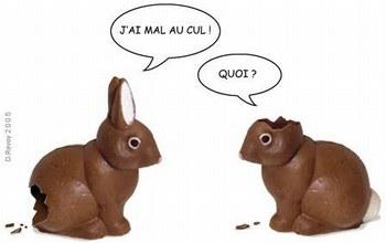 pâques la fête des lapins