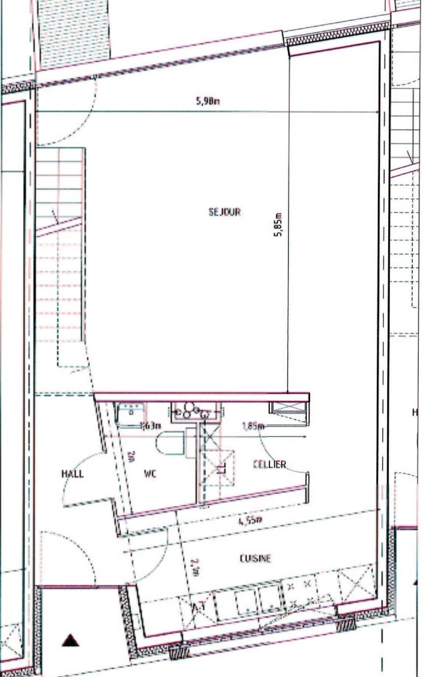 agrandissement d 39 une salle de bain et ajout d 39 un wc conseils des bricoleurs du forum bricolage. Black Bedroom Furniture Sets. Home Design Ideas