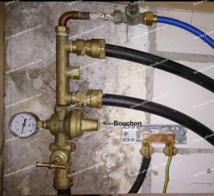 plomberie réducteur de pression