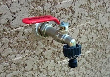 Robinet exterieur per installer un robinet ext rieur sur per
