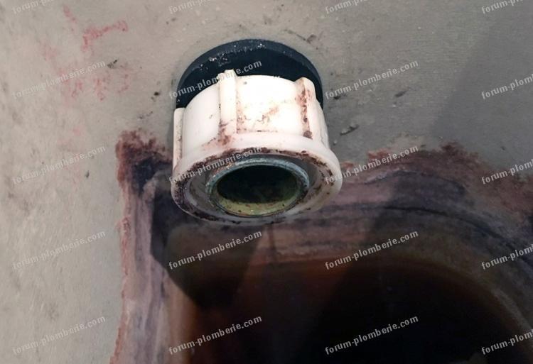 problème démontage mécanisme WC