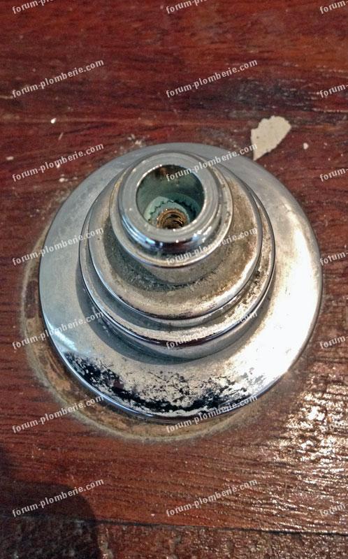 problème pour remplacer un robinet