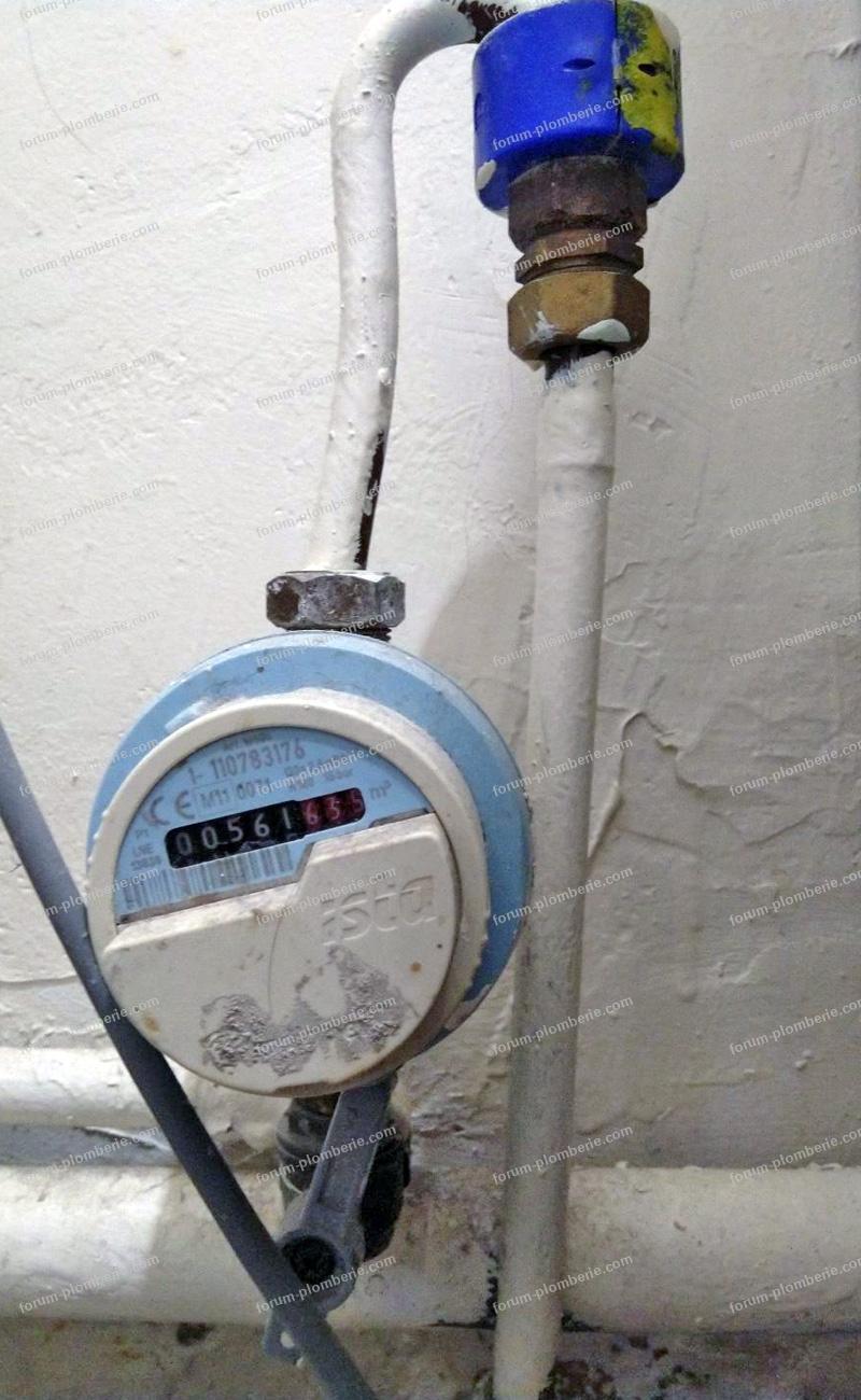 problème robinet arrivée d'eau bloqué