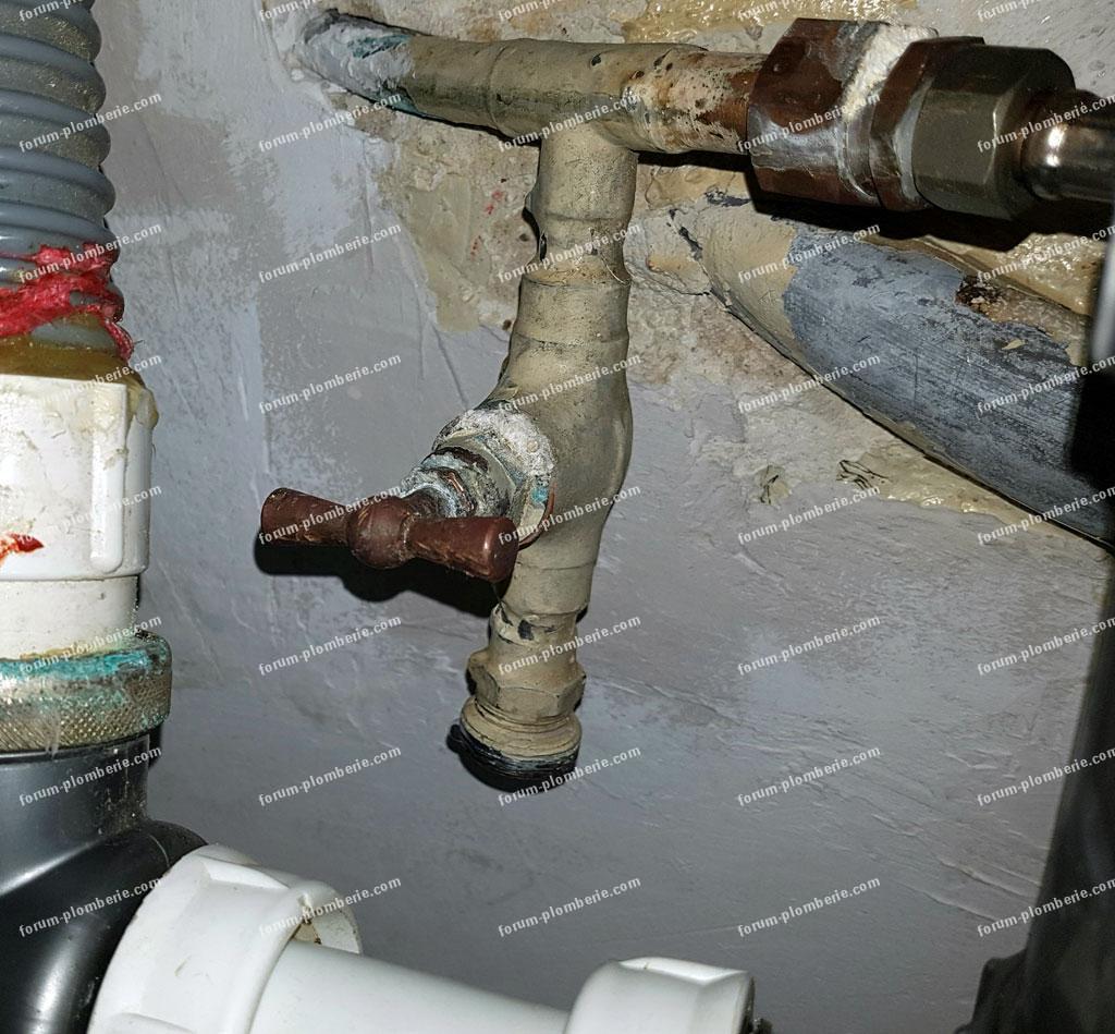 problème robinet qui goutte