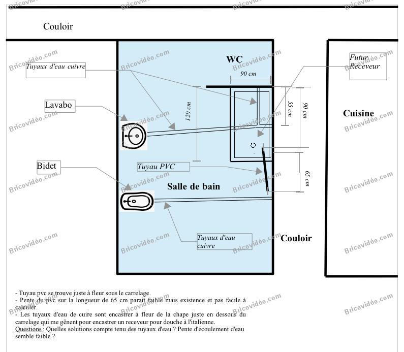 Quelle pente pour evacuation wc free best quelle - Pente evacuation wc ...