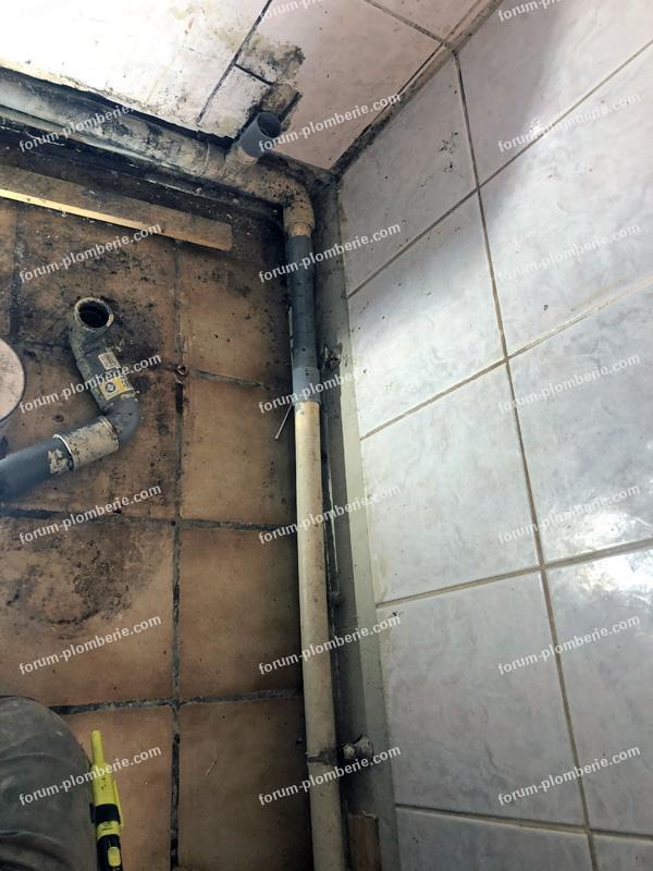 problème refoulement eaux WC broyeur