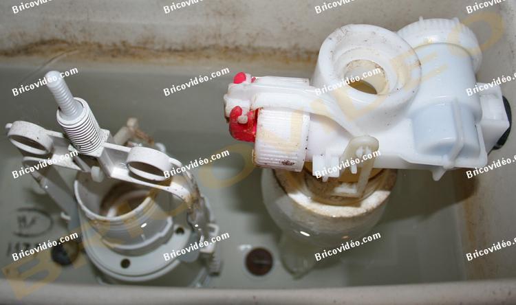 reglage mecanisme de wc