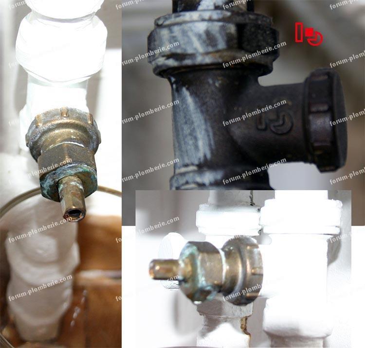 bricovidéo forum chauffage : remplacer ancienne tête de robinet ... - Demonter Un Robinet Thermostatique