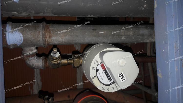 remplacer tête de de robinet compteur d'eau