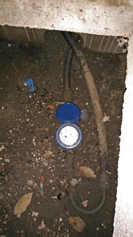 rénovation réseau d'eau en PER