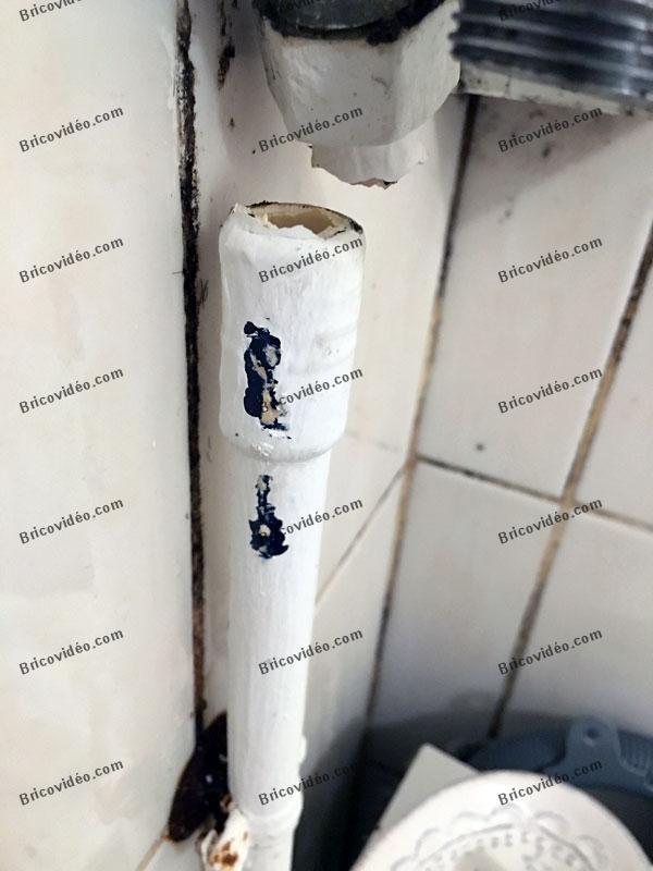 conseils pour réparer un tuyau cassé