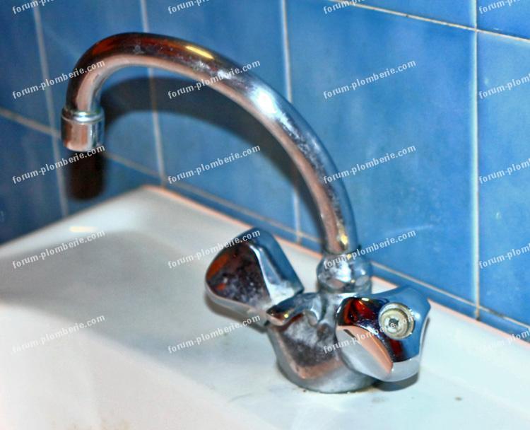robinet Grohé lavabo