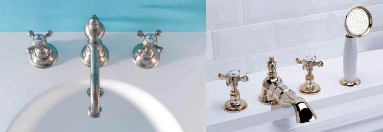 robinetterie de baignoire ancienne