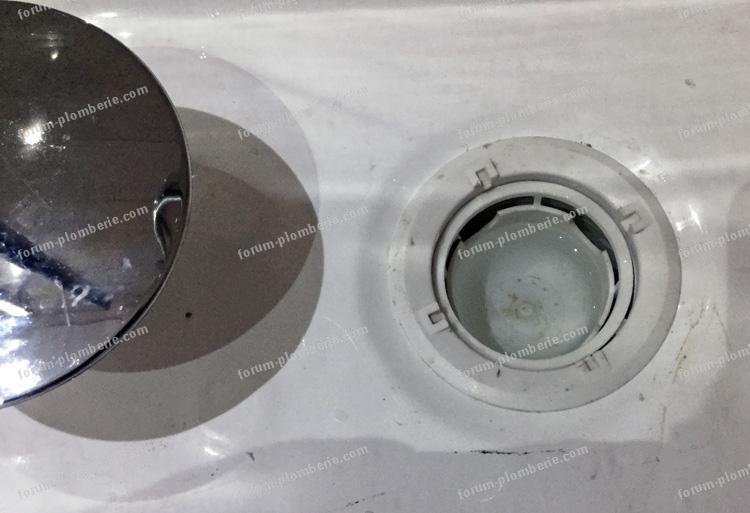 tasse receveur de douche