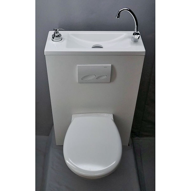 Bouton de commande wc suspendu - Wc suspendu lave main ...